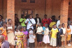 Warm welcome in Gitega
