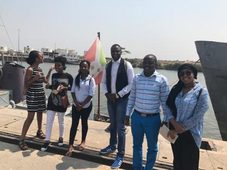Visit at the Port of Bujumbura