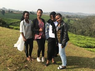 Country side view in Burundi - Bururi