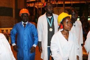 Visit - Burundi's only sugar manufacturing plant