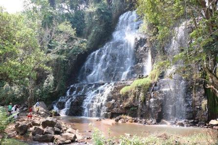 Kagera waterfalls - Historical