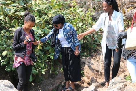 Visited Hills and natural warm water - Amashuha